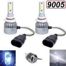 LED Headlight 9005 HB3 6000K High Beam or Fog DRL Bulb White Brightest PAIR
