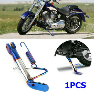 1PCS CNC Aluminum Motorcycle Scooter Bikes Kickstand Side Stand Leg Foot Brace