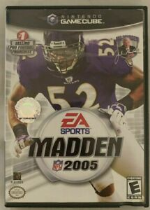 Madden NFL 2005 (Nintendo GameCube, 2004) GAME COMPLETE ~TESTED~ LEWIS