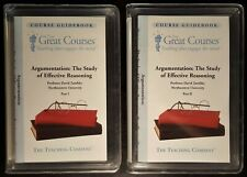 GREAT COURSES - Argumentation The Study of Effective Reasoning - 12 CD Audiobook