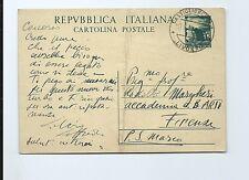 Cartolina Autografo Pittore Silvio Loffredo da Castiglioncello a Prof. Margheri