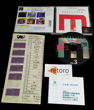 NAMCO MUSEUM VOL 3 playstation PSX Play Station PS1 JAPONES Galaxian Arcade