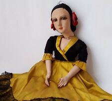 French Boudoir doll grande poupée de salon 1920  - 12640