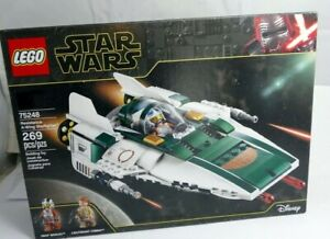 Lego Star Wars 75248 Resistance A-Wing Starfighter Set New & Factory Sealed