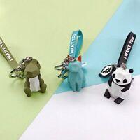 Cute Panda Unicorn Animal Pendant Handbag Purse Key Chain Ring Cartoon Keychain