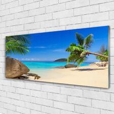 Acrylglasbilder Wandbilder aus Plexiglas® 125x50 Strand Meer Steine Landschaft