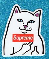 2 Cat Vinyl Stickers