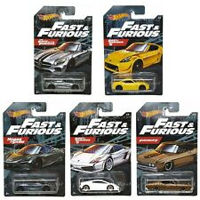 Hot Wheels 2020 Fast & Furious Series Walmart Exclusive Complete Set of 5 Cars