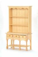 1/12 Scale Streets Ahead Dolls House Barewood Three Drawer Dresser BEF006