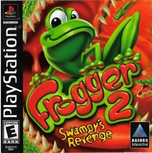 Frogger 2 Swampys Revenge - Authentic Sony PlayStation 1 Game