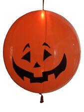 "Halloween Pumpkin Shaped LED Light Punch Balloon 18""-45cm. 3 pcs PREMIUM QUALITY"