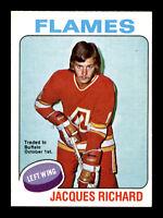 JACQUES RICHARD 75-76 O-PEE-CHEE 1975-76 NO 117 NRMINT+  12139
