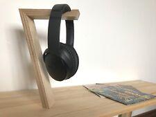 Handmade Birch Freestanding Headphone Display Stand/Holder Music Bose, Sony