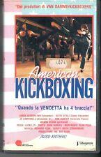American Kickboxing (H.K. 1992) VHS Videogram Video Loren Avedon  Keith Vitali