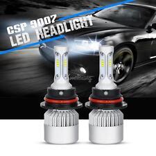 Pair 9007/HB5 252W CSP Hi/Lo Beam LED Headlights Bulbs Car SUV 6500K Kits HID