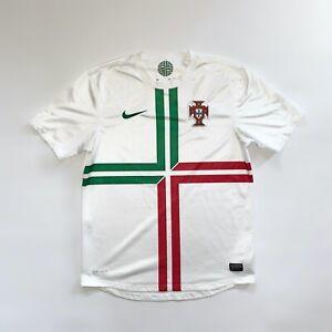 PORTUGAL NATIONAL TEAM AWAY 2012/13 ORIGINAL FOOTBALL SHIRT JERSEY NIKE / SIZE M