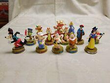 Lot of 14 McDonalds 2002 Walt Disney World 100 Years of Magic Happy Meal Toys