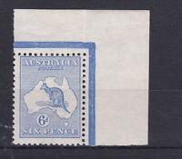 K706) Australia 1913 1st wmk. 6d Ultramarine Kangaroo, ACSC 17A