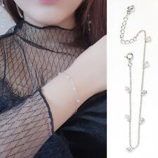 Damen Armband Zirkonia echt Sterling Silber 925 rhodiniert 16 - 19 cm