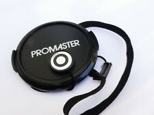 Promaster 52mm Front  Lens cap plastic snap on type 2 Japan with strap