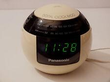Radio Wecker Clock Radio Panasonic RC-70 Kugel Design 70er Vintage Space Flip
