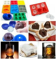 Silicone Star Wars Ice Cube Tray Chocolate Mold Cookies Soap Baking Mould DIY
