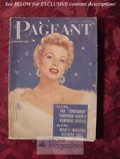 PAGEANT January 1955 GINA LOLLOBRIGIDA JACK WEBB JACKIE COOPER MARLENE DIETRICH