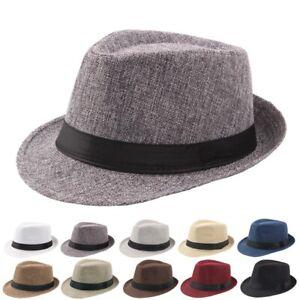 Cappello borsalino fedora berretto cappellino uomo donna panama hat vari colori