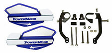 Powermadd Blue/White Star Handguards & Mount Kit Off-Road Motorcycles & ATV's