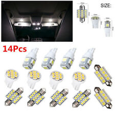 14x Car LED Interior Lamp For T10 31mm Package Kit Map Dome License Plate Lights
