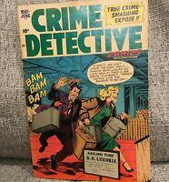Golden Age Comic Crime