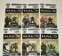 New In Packaging! Lot Set of 6 HALO Nano Metalfigs Die-Cast Metal Figures Jada