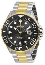 Invicta Pro Diver 24 Jewels Automatic Black Dial Two Tone Men's Watch 28758 SD