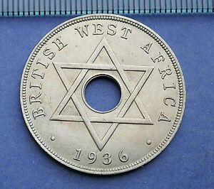 British West Africa 1936 Penny - Edward VIII