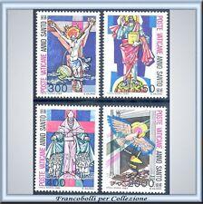 Vaticano 1983 Anno Santo n. 721/724 Nuovi Integri **
