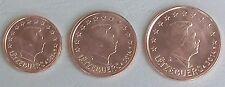 1+2+5 Euro Cent Luxemburg 2014 unz