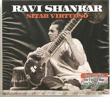 RAVI SHANKAR SITAR VIRTUOSO 2 CD BOX SET