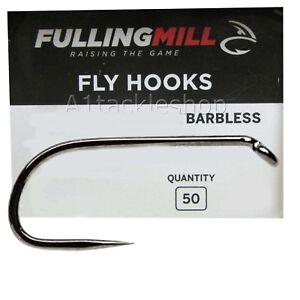 50 Fulling Mill 35105 Comp Heavyweight Fly Tying Hooks