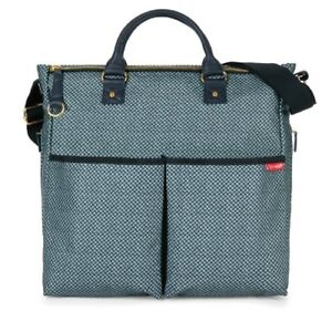 Skip Hop Duo Special Edition Diaper Bag, Blue Pinpoint 200309-CO