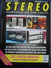 STEREO 10/94.asw incognito ISM 2, ELAC 305 Merlin, jmr EVOLUTION 1, Focal 94 EXPRES