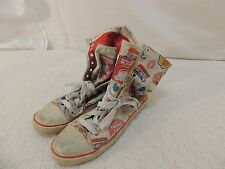 Harajuku Lovers High Top Shoes Women's 6 Super Kawaii Bubble Pop Bright 50786