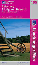 Aylesbury & Leighton Buzzard OS Landranger Map 165 (NEW folded sheet map, 2006)