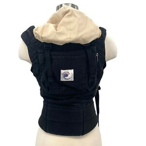 Ergo Carrier Original Baby Black Cotton Pack 12-45 lbs Infant Faded ErgoBaby