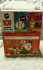 Wilton 101 Cookie Cutter Set Baking Cookies shapes Holiday