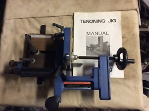Table Saw Universal Tenoning Jig Tenon Vise Clamp Fixture Clean