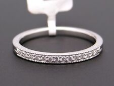 New Scott Kay Platinum .11ct Round Cut Diamond 2mm Wedding Band Ring B1180RD