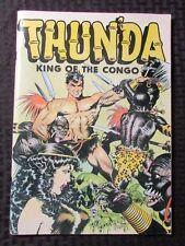 1973 THUNDA King Of The Congo by FRANK FRAZETTA Sussex VF- Russ Cochran Oversize