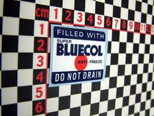 Bluecol Red Spot Antifreeze Sticker - Austin Morris Wolseley Riley MG Healey