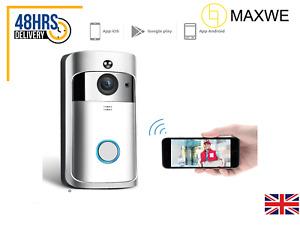 Wireless Video Smart Wi-Fi Home Security Intercom Doorbell Camera- Fast Shipping