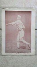 1920 Dick DICKEY KERR Baseball Magazine Poster honest member on BLACK SOX team